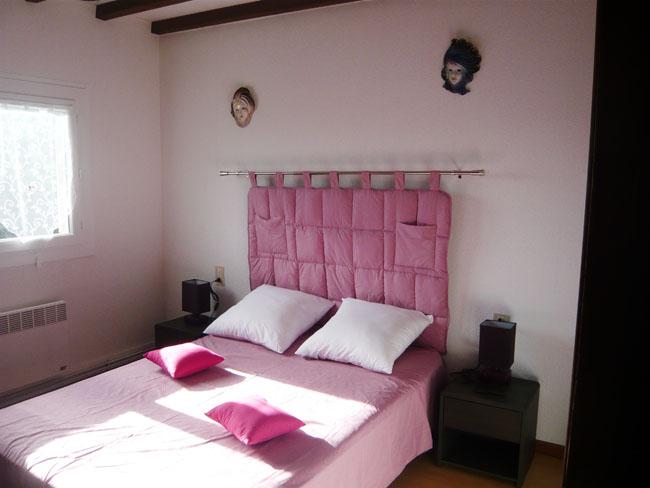 la chambre n°2 location vacances gite carcassonne aude