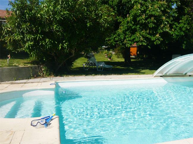 piscine du gîte de la fenouillette 2