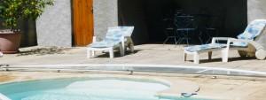 piscine privée carcassonne location vacances